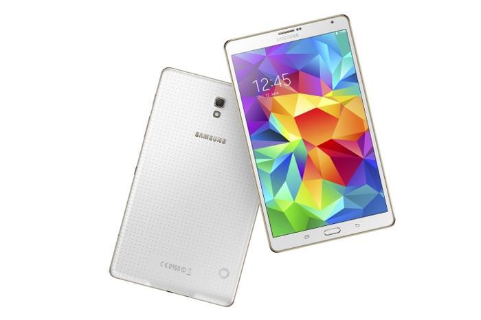 The 8.4-inch Galaxy Tab S.