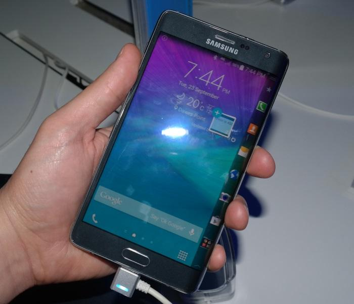 The Galaxy Note Edge