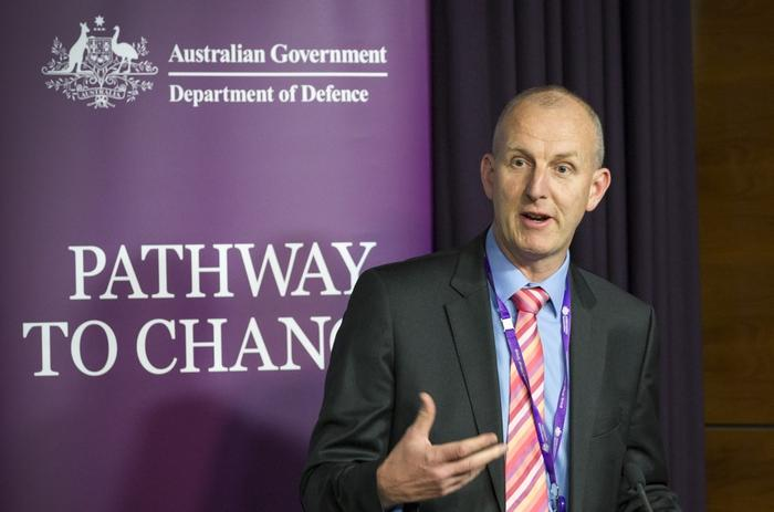 Department of Defence chief information officer, Dr Peter Lawrence. © Commonwealth of Australia, Department of Defence