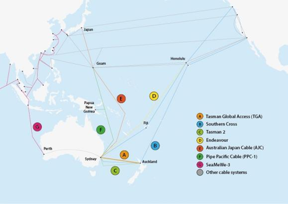Tasman Global Access cable