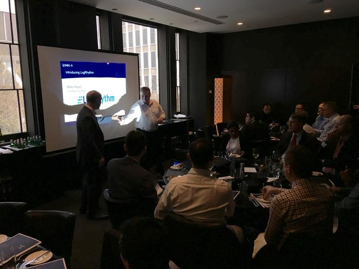 David McDonald at a recent IPSec event in Sydney demonstrating the benefits of SIEM