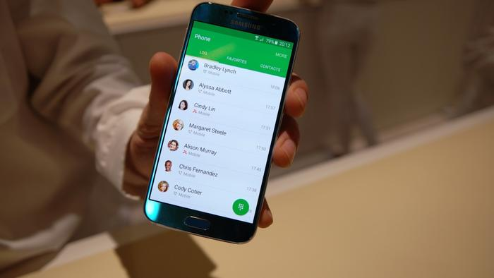 TouchWiz benefits from simpler styling