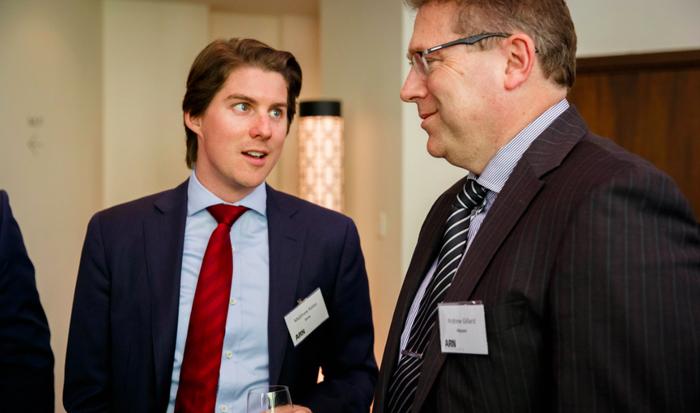 Matthew Kates (Zerto) and Andrew Gillard (Mycom)