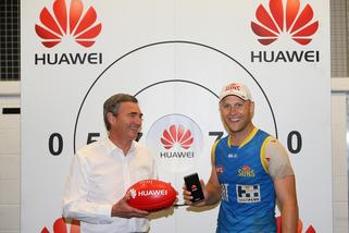 Exclusive: Huawei sponsors AFL's Gold Coast Suns