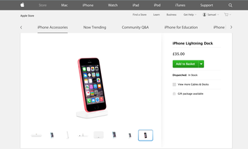 Apple outs reported iPhone 6C on its website