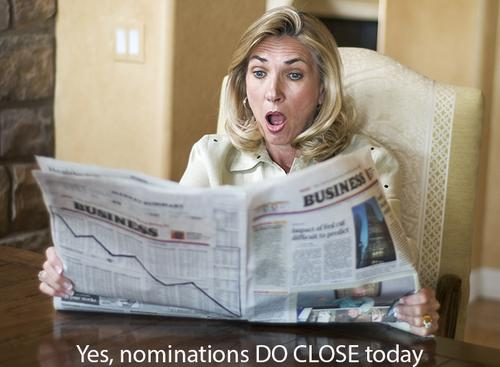 2015 ARN ICT Industry Awards - last chance:  Nominations close at 11.59pm tonight